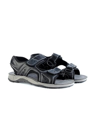 Gezer Spor Sandalet Siyah